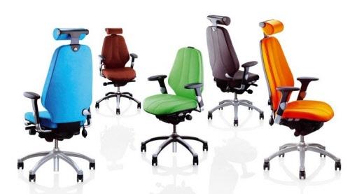 Bureaustoel Met Neksteun.Rh Logic 400 24 7 Bureaustoel Rh3559